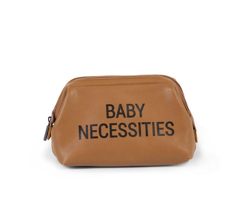 Childhome Baby Necessities Leatherlook Bruin