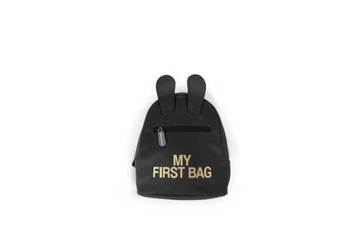 Childhome Childhome Rugzak My First Bag Zwart