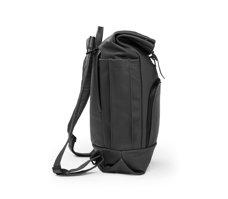 Dusq Family Bag Leather Night Black