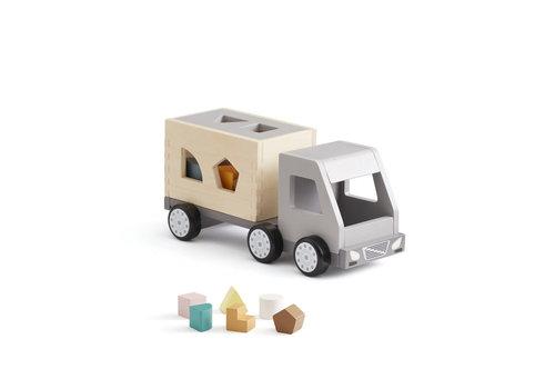 Kids Concept Kids Concept Vrachtwagen Met Vormpjes Aiden