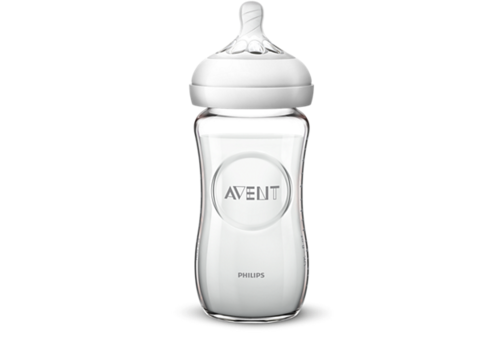 Avent Avent Natural 2.0 Zuigfles Glas 240 ml