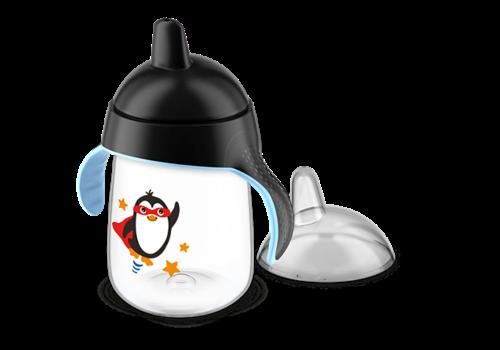 Avent Avent Lekvrije Pinguin Beker 340 ml Zwart