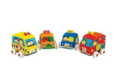K'S Kids K'S Kids Auto Wasbaar Met Frictie