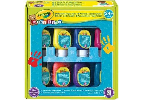 Crayola Crayola Mini Kids Afwasbare Vingerverf 8 st