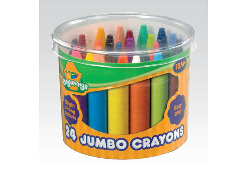Crayola Crayola 24 Dikke Waskrijtjes