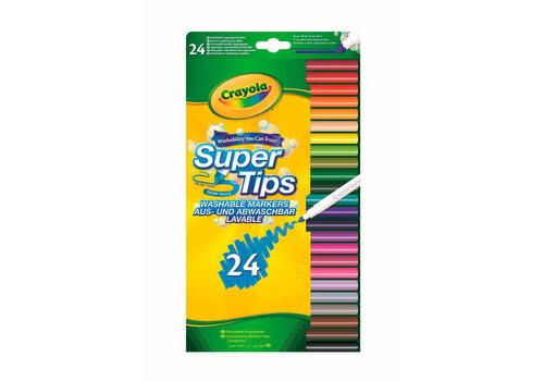 Crayola Crayola 24 Viltstiften Met Superpunt