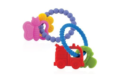 Nuby Nuby Silicone Chewy Charms Teether