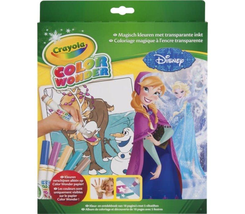Crayola Color Wonder Box Set Frozen