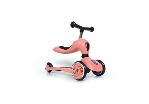 Scoot And Ride Scoot And Ride Loopfiets - Step Peach