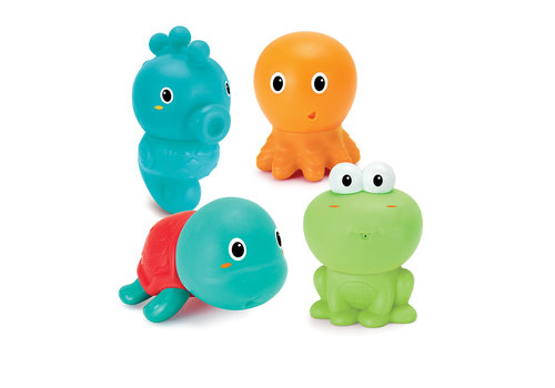 Infantino Infantino Badspeelgoed Plug & Play Squirters