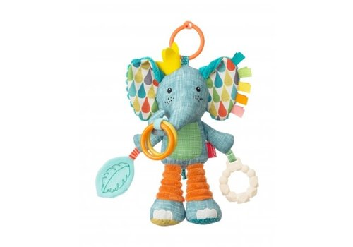 Infantino Infantino Soft Go-Gaga Playtime Pal Elephant