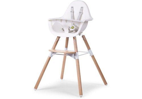 Childhome Copy of Childhome Stoel Evolu 180 Naturel - Antraciet