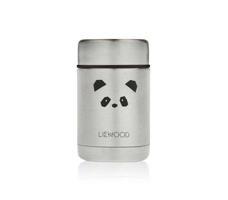 Liewood Nadja Food Jar Panda Stainless Steel