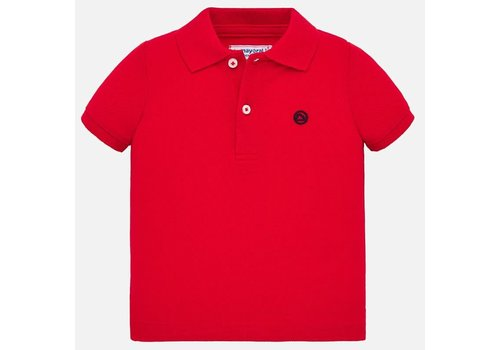 Mayoral Mayoral Basic s/s polo Hibiscus