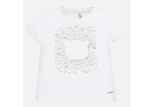 Mayoral Basic s/s t-shirt White