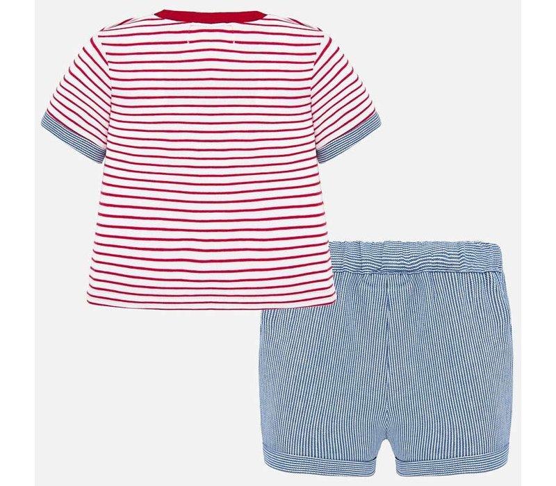 Mayoral Shorts Set Cuore