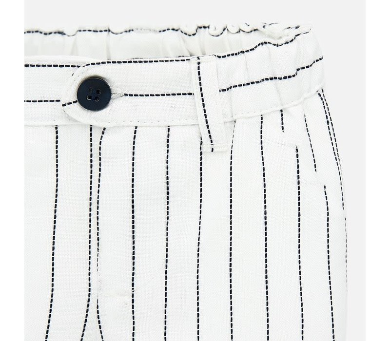 Mayoral Short Pants With Laps White