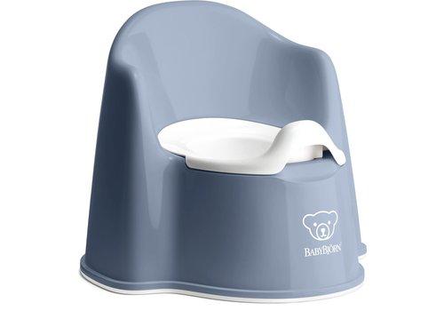 BabyBjörn Babybjorn Potje Zetel Diepblauw/Wit