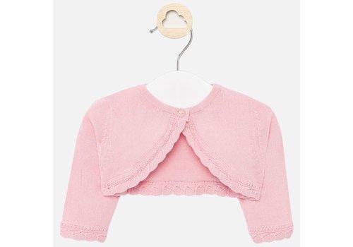 Mayoral Mayoral Basic knitted cardigan Blush