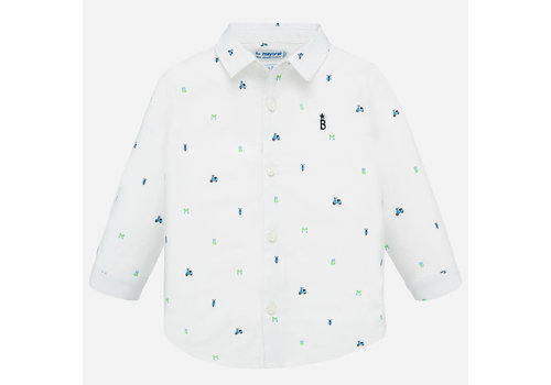 Mayoral Mayoral L/s Shirt White