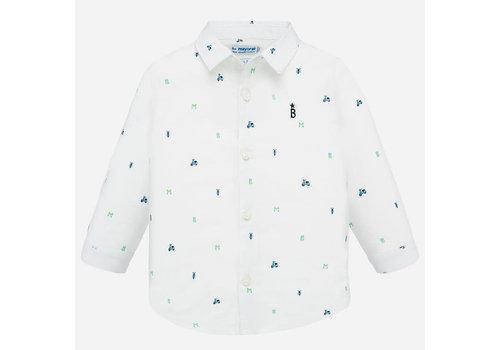 Mayoral Mayoral L/s Shirt White