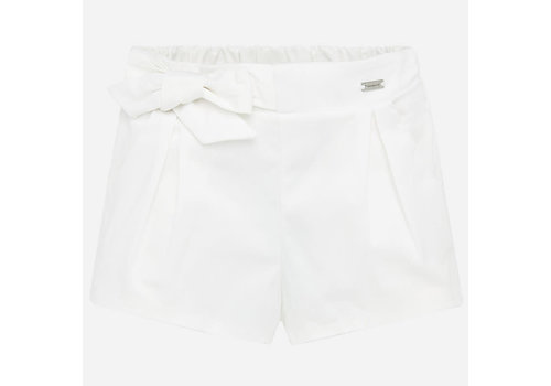 Mayoral Mayoral Satin shorts White