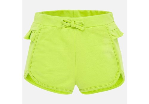 Mayoral Mayoral Ruffled shorts Pistachio