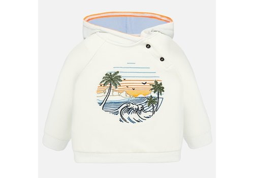 Mayoral Mayoral Embroidered pullover Pearl