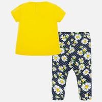 Mayoral Leggings Set Yellow