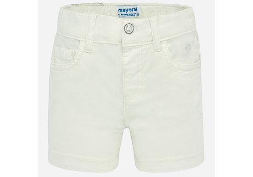 Mayoral Mayoral Basic 5 pockets twill shorts  Natural