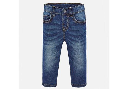 Mayoral Mayoral Basic slim fit trousers Dark