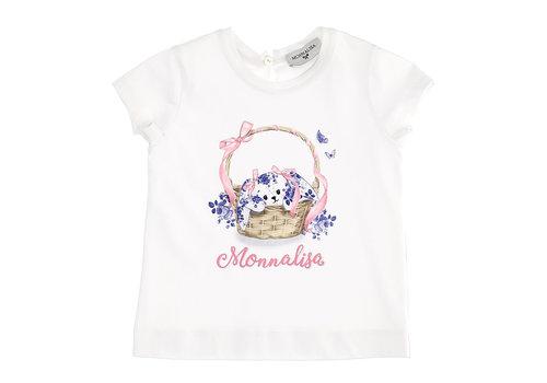 Monnalisa Monnalisa T-Shirt St.Cestino Bianco