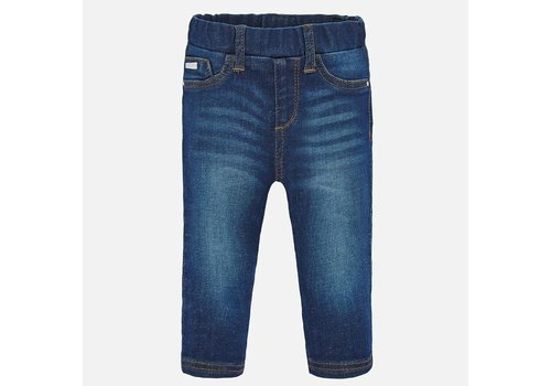 Mayoral Mayoral Basic denim pants Dark