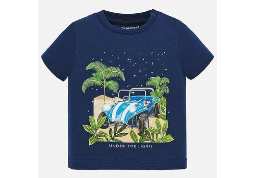 Mayoral Mayorl Glow In Dark T-shirt s/s Sapphire
