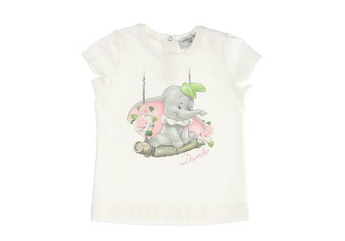 Monnalisa Monnalisa T-Shirt St.Altalena Panna