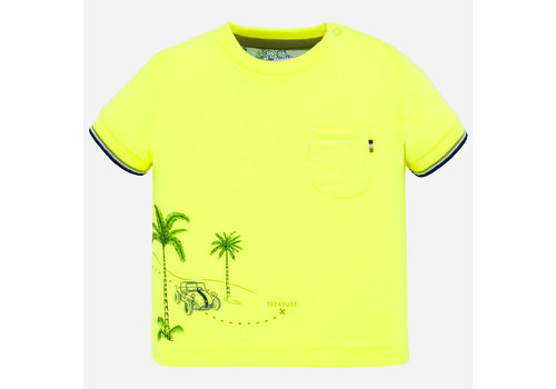 Mayoral Mayoral Positioned t-shirt s/s Neon-limon