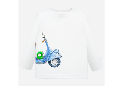 Mayoral Mayoral Vespa t-shirt l/s White