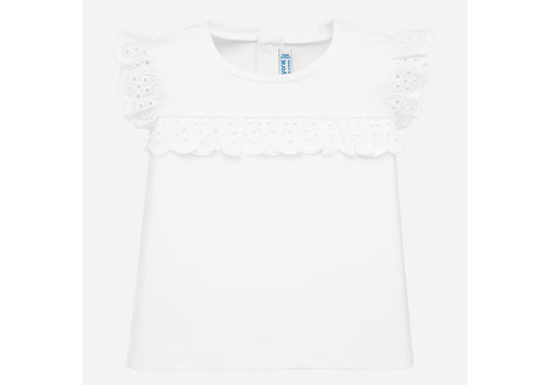 Mayoral Mayoral S/s t-shirt White 1061
