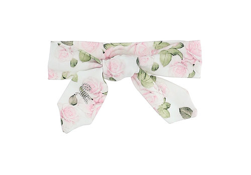 Monnalisa Monnalisa Fascia St.Rose All-Over Panna+Rosa