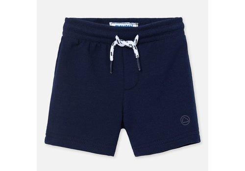 Mayoral Mayoral Basic fleece shorts Navy