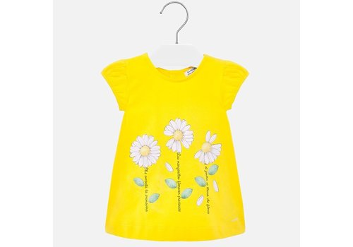 Mayoral Mayoral Dress Yellow