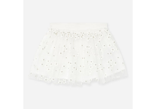 Mayoral Mayoral Tulle Skirt Natural