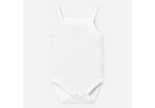 Mayoral Mayoral Basic body with straps White