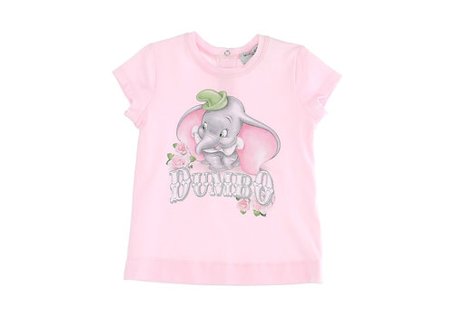Monnalisa Monnalisa T-Shirt St.Romantic Rose Rosa Antico