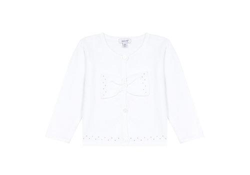 Absorba Absorba Cardigan Strass Blanc 9Q18022