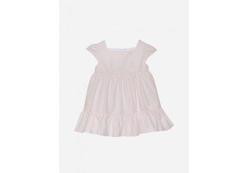 Patachou Patachou Pap/Vet3033211 Dress White/Pink Stripes
