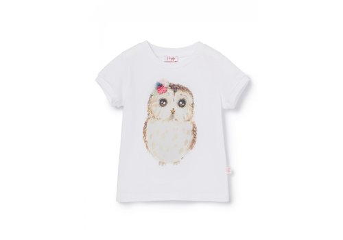 Il Gufo Il Gufo T-Shirt S/Swhite/Pink P20TS231M0014