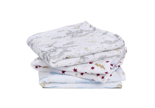 Aden & Anais Aden + Anais Harry Potter Iconic 3-Pack Classic Muslin Squares
