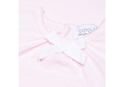 Cotolini Cotolini Chemise De Nuit Nuisette Eté Rose Maille
