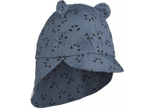 Liewood Liewood  Gorm sun hat Panda blue wave